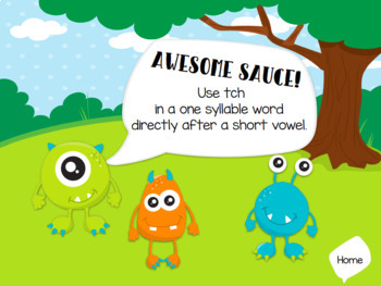 tch Phonics Rule Digital Game