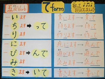 Japanese verb te-form1
