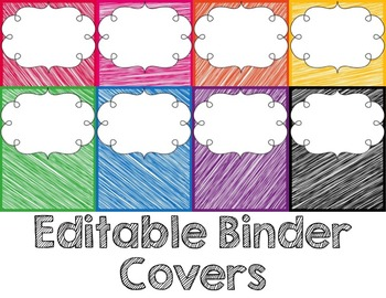 Teacher Binder Helper {editable}