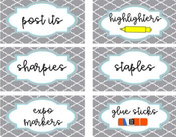 teacher toolbox editable labels