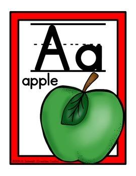 Classroom Alphabet Line