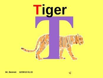 teaching the consonant T