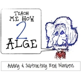 Adding & Subtracting Positive / Negative Numbers - Math Notes Algebra