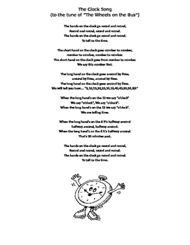 telling time song