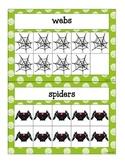 ten frame ID mini-bundle: 4 fall themes