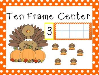 ten frame turkey center