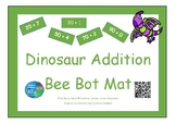 tens and ones addition - Bee-bot mat - Dinosaur theme