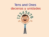 tens and ones/ decenas y unidades jeopardy