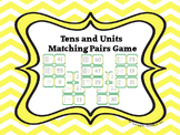 tens and units matching pairs game
