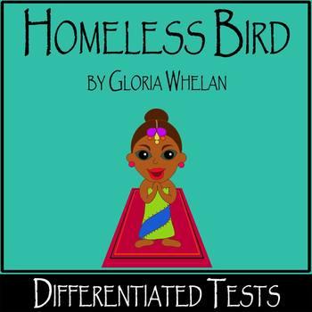 Homeless Bird by Gloria Whelan - 2 Open-Book Tests