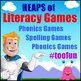 Math Games & Reading Games MEGA BUNDLE - 190 Printable Games