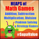 Math Games & Reading Games MEGA BUNDLE - 190 Printable Games