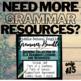 Grammar Worksheets, Test: VERBALS UNIT PACKET (gerunds, participles, infinitive)