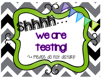 testing sign 2