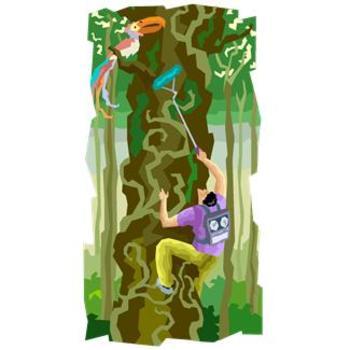 Henri Rousseau Fantasy Jungle
