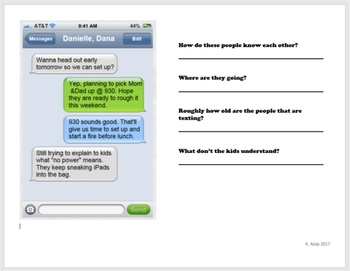 text message inferences part 2