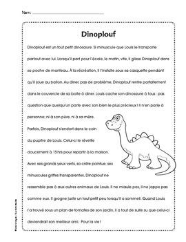 texte littéraire dinosaure