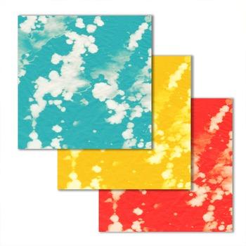 "textured digital paper with bright tie dye look - 10 12""x12"" .jpg files TPT181"