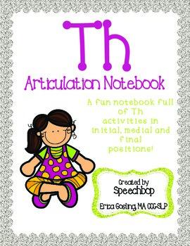 /th/ Articulation Notebook!