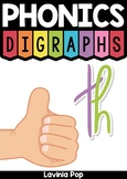 Digraph TH: Phonics Word Work {Multiple Phonograms}