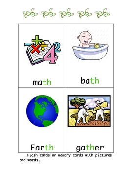 /th/ Digraph Literacy Stations