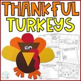 Thankful Turkeys {Craftivity & Printables}