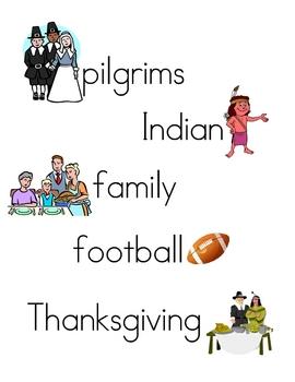 thanksgiving writing center