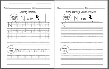Alphabet, writing letters practice, sight words, elementary, early ED, SPED