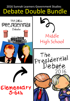 the 2016 Presidential Debate Double Bundle