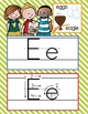 the BRAINY BUNCH - Alphabet Cards, Handwriting, Cards, ABC print with pictures