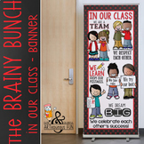 the BRAINY BUNCH - BANNER - LG - In Our CLASS {melonheadz}