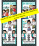 the BRAINY BUNCH - BANNER - LG - In Our CLASS {melonheadz} BOLD teal