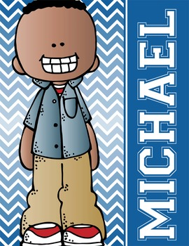 the BRAINY BUNCH - BOYS - Student Binder Covers - Kids of Color {Melonheadz}