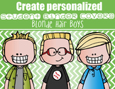 the BRAINY BUNCH - BOYS - Student Binder Covers - blonde hair  {Melonheadz}