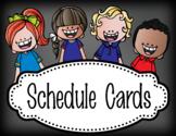 pastel CHALK {melonheadz}- Classroom Decor - Schedule Cards -  editable