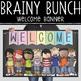 CHALK {melonheadz} - Classroom Decor: MEDIUM BANNER, Welcome