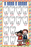 the BRAINY BUNCH - Classroom Decor: I lost a TOOTH - size 24 x 36