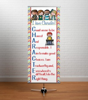 the BRAINY BUNCH - Classroom Decor: LARGE BANNER, CHARACTER