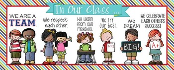 the BRAINY BUNCH - Classroom Decor: LARGE BANNER, In Our C