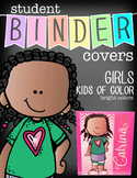 the BRAINY BUNCH - GIRLS - Student Binder Covers - Kids of Color {Melonheadz}