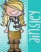 the BRAINY BUNCH - GIRLS - Student Binder Covers - blonde hair  {Melonheadz}