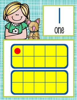 the BRAINY BUNCH - Number Line Banner, 0 to 20, Illustrated