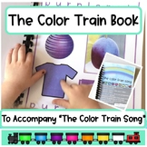the Color Train Song Book: to use with the Color Train Song by Dr. Jean