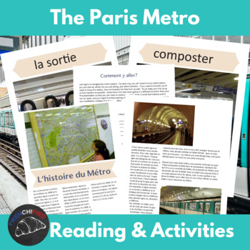 the Métro - a cultural unit about tranportation in Paris
