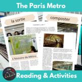 the Métro - a cultural unit about tranportation in Paris