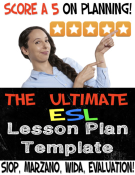 the ULTIMATE esl Lesson Plan Template
