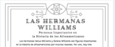 the Williams Sisters: Level 1 Reading in Spanish