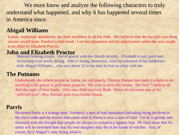 the crucible powerpoint power point