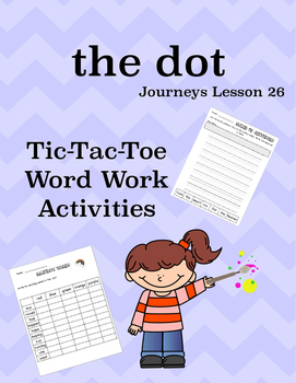the dot Journeys Lesson 26