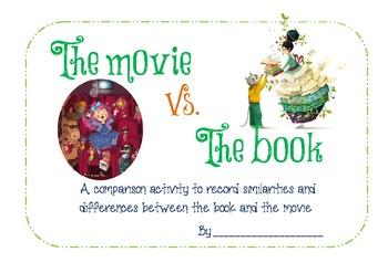 the movie vs. the book
